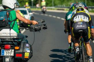 így készül a tévés közvetítés a Tour de Hongrie 2016-on