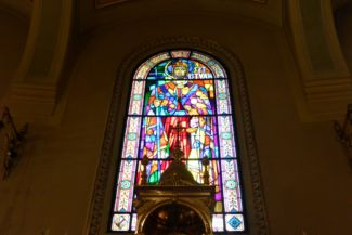 Szent István mozaik a Bazilikában