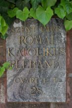 Szent Imre-plébánia információs táblája