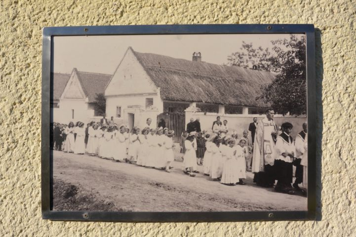 régi fotó a községről