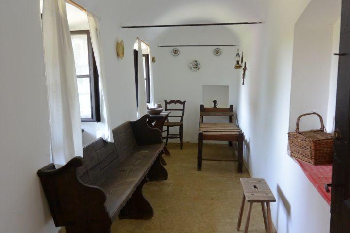 beépített tornác a Parasztgazda házában