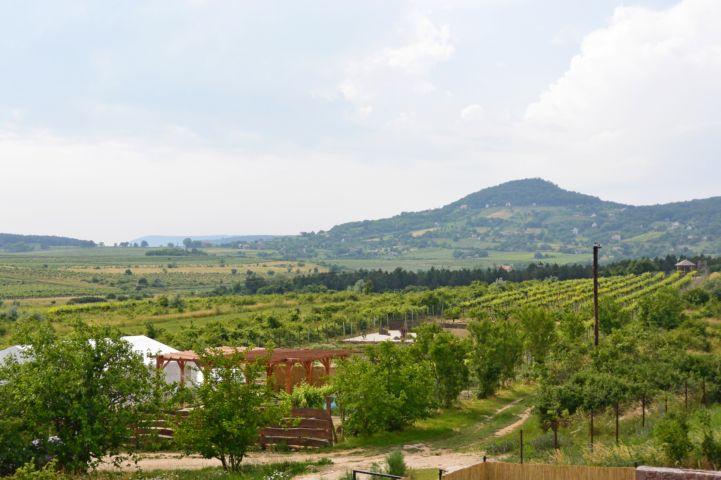 Gyógynövény völgy - látogató- és oktatóközpont, kilátás Hegyestűre