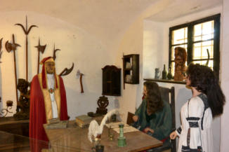 a középkori életet bemutató panoptikum