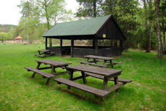 Bárkás-tói pihenőhely