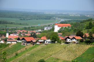 kilátás Lendvára