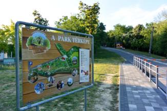 a Balatonboglár Kalandpark és Bobpálya térképe