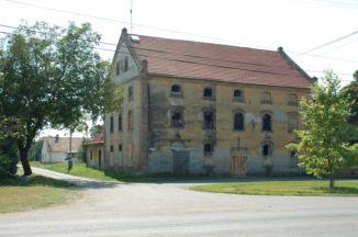 az egykori gőzmalom épülete
