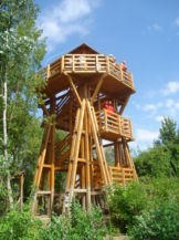 Tisza-tavi Vízi Sétány és Tanösvény megfigyelőtornya