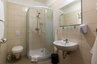 a Hangistálló egyik fürdőszobája