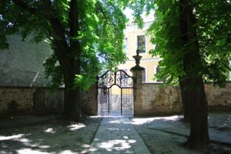 Belgrád székesegyház bejárata