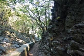 a Kőkapu, a Badacsony egyik jellegzetessége