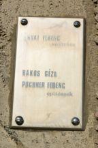 Jubileumi bányászemlékmű felirata