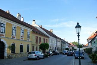 Fő utca látképe