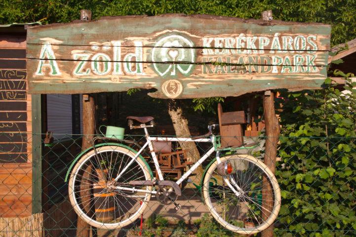 A Zöld - kerékpáros kalandpark