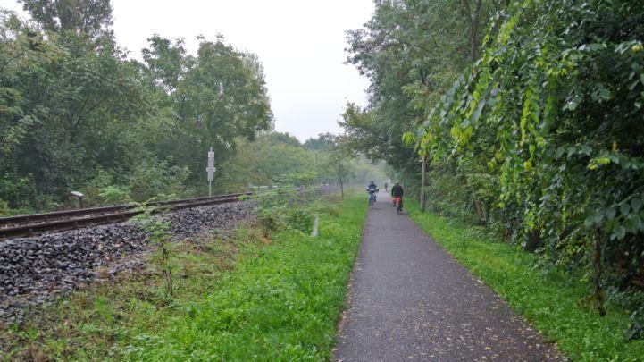 bicikliút Gyopárosra