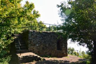 Egry József kilátóhely a Badacsony déli oldalán