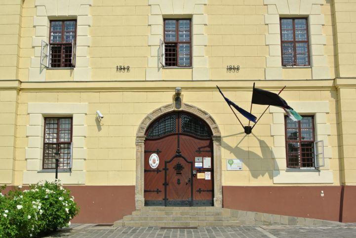 Fegyház és Börtön bejárata
