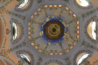zsinagóga kupolája