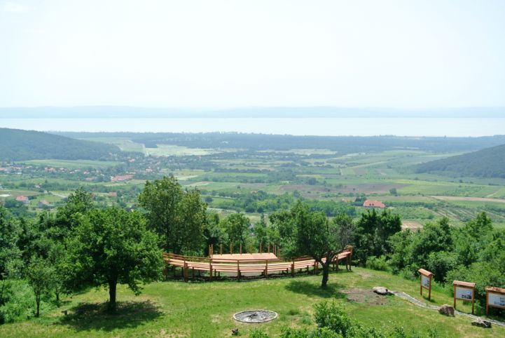 panorama from the Kossuth Lookout Tower