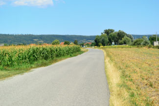 útszakasz Donnerskirchen közelében