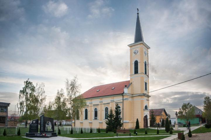 Szent Rozália-templom Fotó: Zöld Eszék/Antunovac