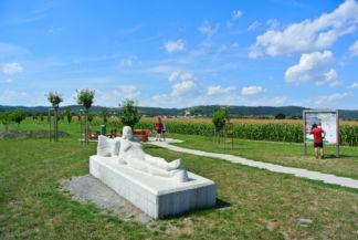 pihenőhely Donnerskirchen és Purbach között
