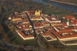 légifelvétel az Eszéki várról Fotó: Zöld Eszék/Antunovac