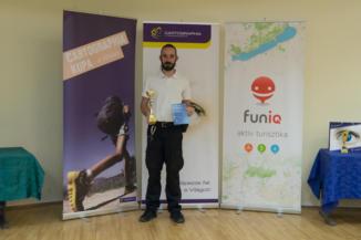 Zsilinyi Gergely, a 2017-es Cartographia Kupa kiemelt teljesítője 24 túrával