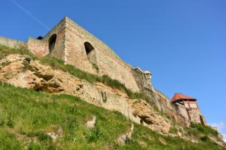 a vár alulnézetből