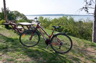 kerékpár a Szent Mihály-dombon