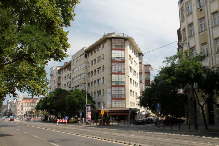 az egykori Bartók mozi épülete