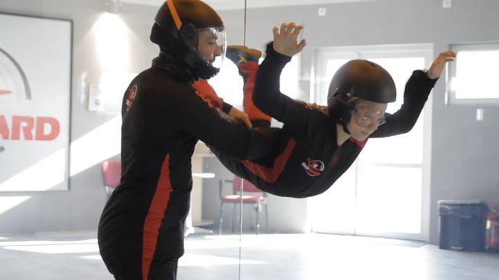 az első repülési próbálkozás oktatóval