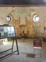 a holládi Szent Donát-kápolna belső tere