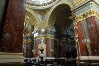 a Bazilika belső tere
