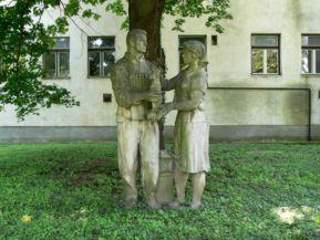 Szocialista művészet című szobor