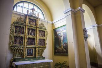 szentképek a Szent Imre-templomban