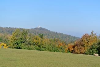 János-hegy az Anna-rétről