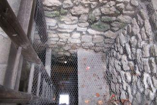 a rituális fürdőből megmaradt kút