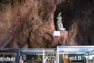 Szűzanya szobor a Sziklatemplomban