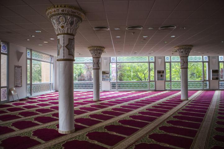 a Budapest Mecset imaterme