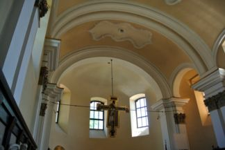 interior of the Saints Peter and Paul Church
