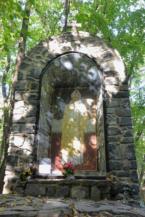 II. János Pál pápa emlékhely a Badacsonyban