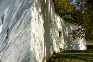 a Csillagvár egyik fala