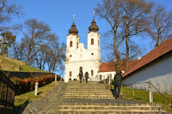 the Benedictine Abbey of Tihany