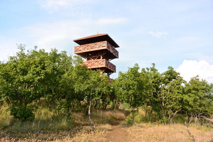 a tihanyi Őrtorony kilátó