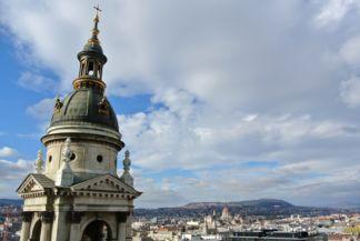 panoráma a Bazilika kupolájából