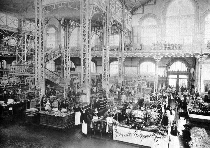 a Vásárcsarnok ünnepélyes megnyitója