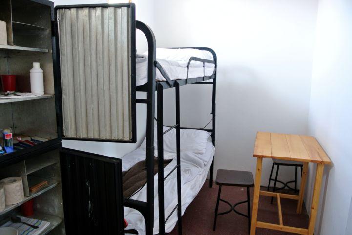 régi cella a Pálos múzeum és Börtönmúzeumban
