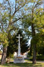 kőkereszt a Kossuth Lajos utca mentén Balatonberényben