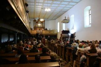koncert a református templomban a Tour de Opera rendezvény keretében